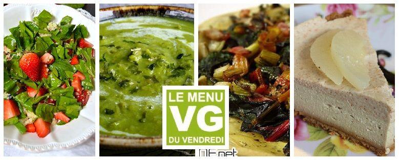 Menu VG du Vendredi – L'arrivée du Printemps | Cuisine ...
