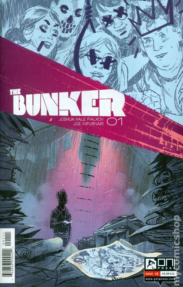 Bunker (2014 Oni Press) 1A Oni Press Modern Age Comic Book covers