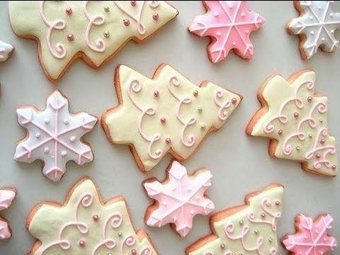 Dolci Natalizi Uccia3000.Uccia3000 Ghiaccia Biscotti Di Natale Dolci Di Natale Torta Di Natale