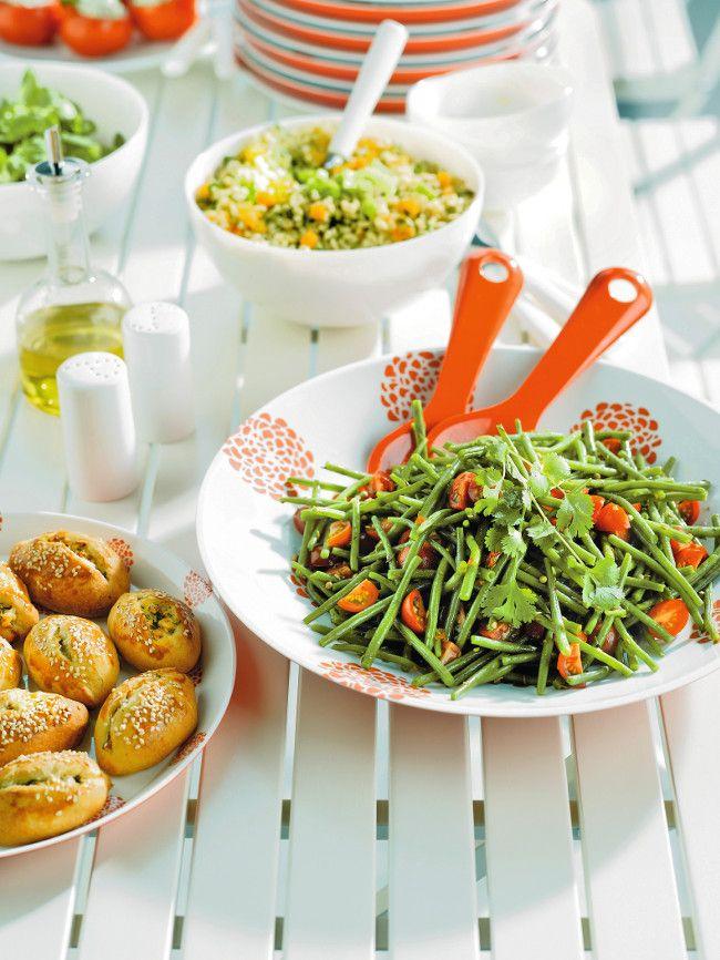 Recette dété : salade de haricots verts à la coriandre