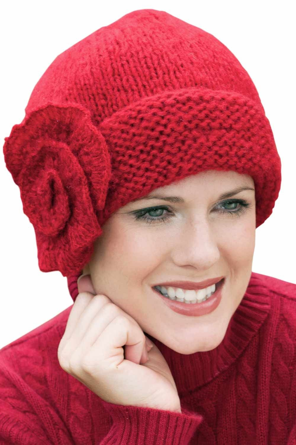 Elise Beanie Cap | Comfy Winter Knit Hat for Women | Cancer Chemo ...