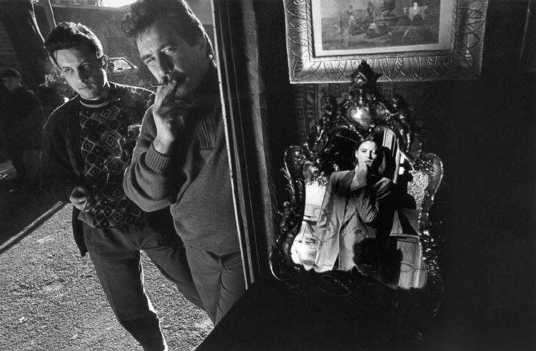 Magnum Photos - Ferdinando Scianna 1991 Palermo Sicily Italy actress Monica Bellucci