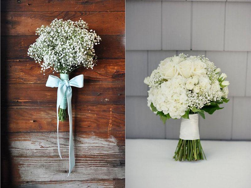 Maneiras de usar a flor mosquitinho no buquê de casamento   Casar.com