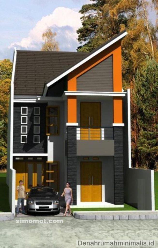 Desain Rumah Minimalis 2 Lantai Type 21 modern & Desain Rumah Minimalis 2 Lantai Type 21 modern   HOUSE   Pinterest ...