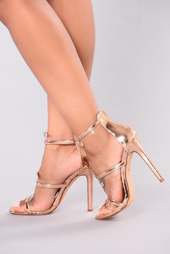84c40b6fc Nicky 3 Piece Heel - Rose Gold