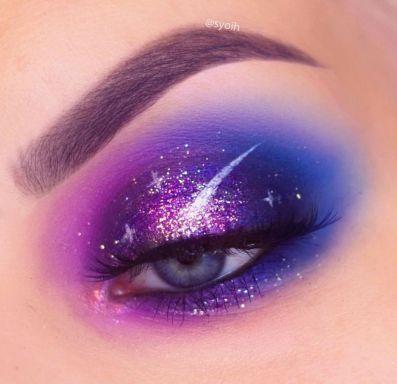 Galaxy Eye Makeup 29 Artistry Makeup Eye Makeup Eye Makeup Art