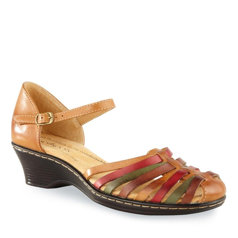 SoftSpots Women s Tatianna Ankle Strap Huarache Shoes Special