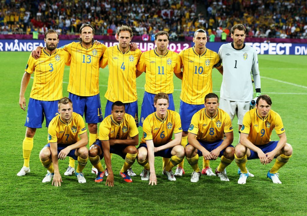 England v Sweden on Jun 15, 2012.   Group C #Euro2012 won by England 3-2 over Sweden.   Pics by Getty Images.