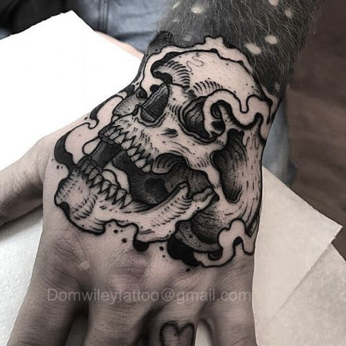 27+ Tatouage main tete de mort ideas