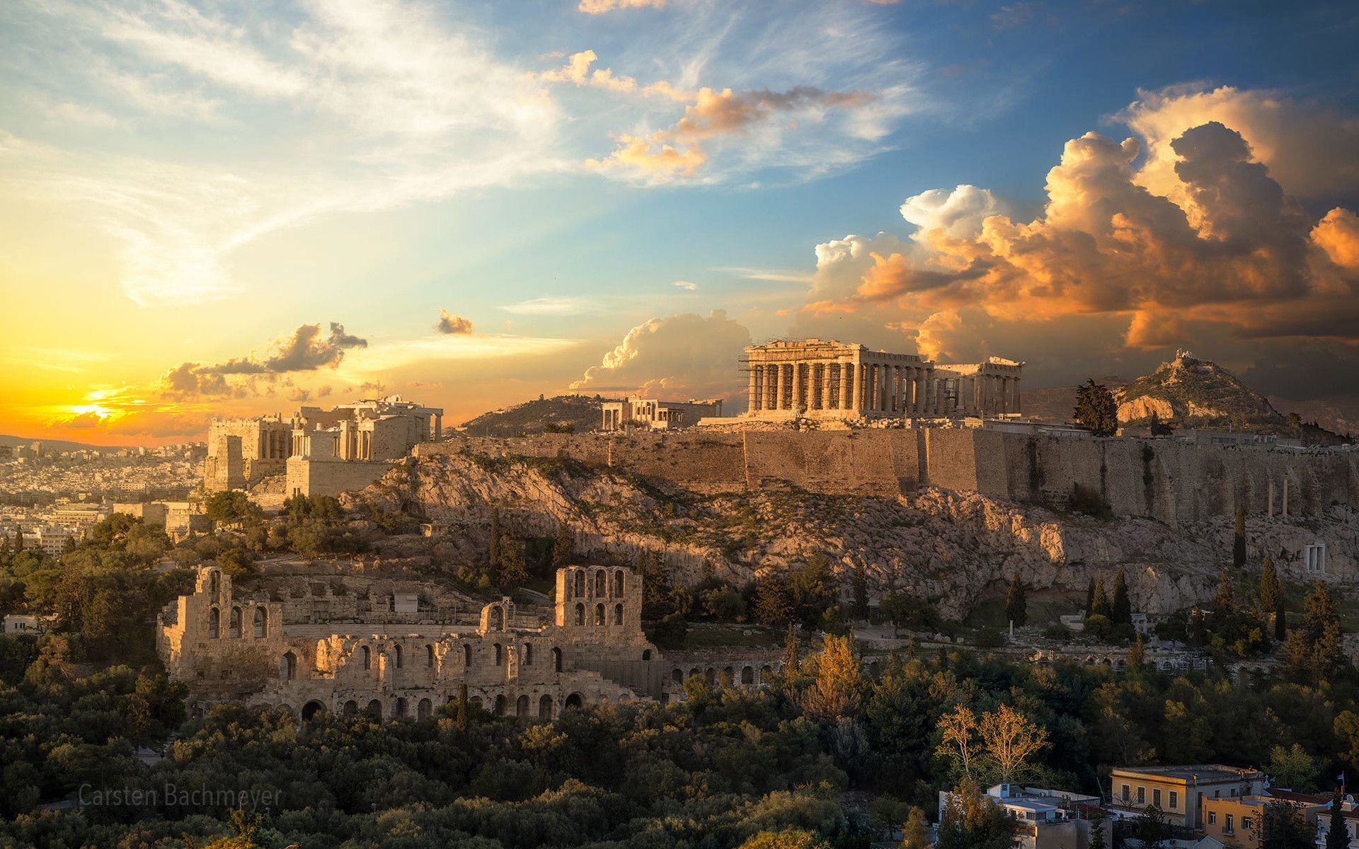 56 Greek Wallpapers On Wallpaperpla Y Athens Acropolis Visiting Greece Ancient Athens
