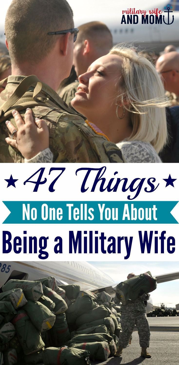 47 Things No One Tells You About Being a Military Wife in