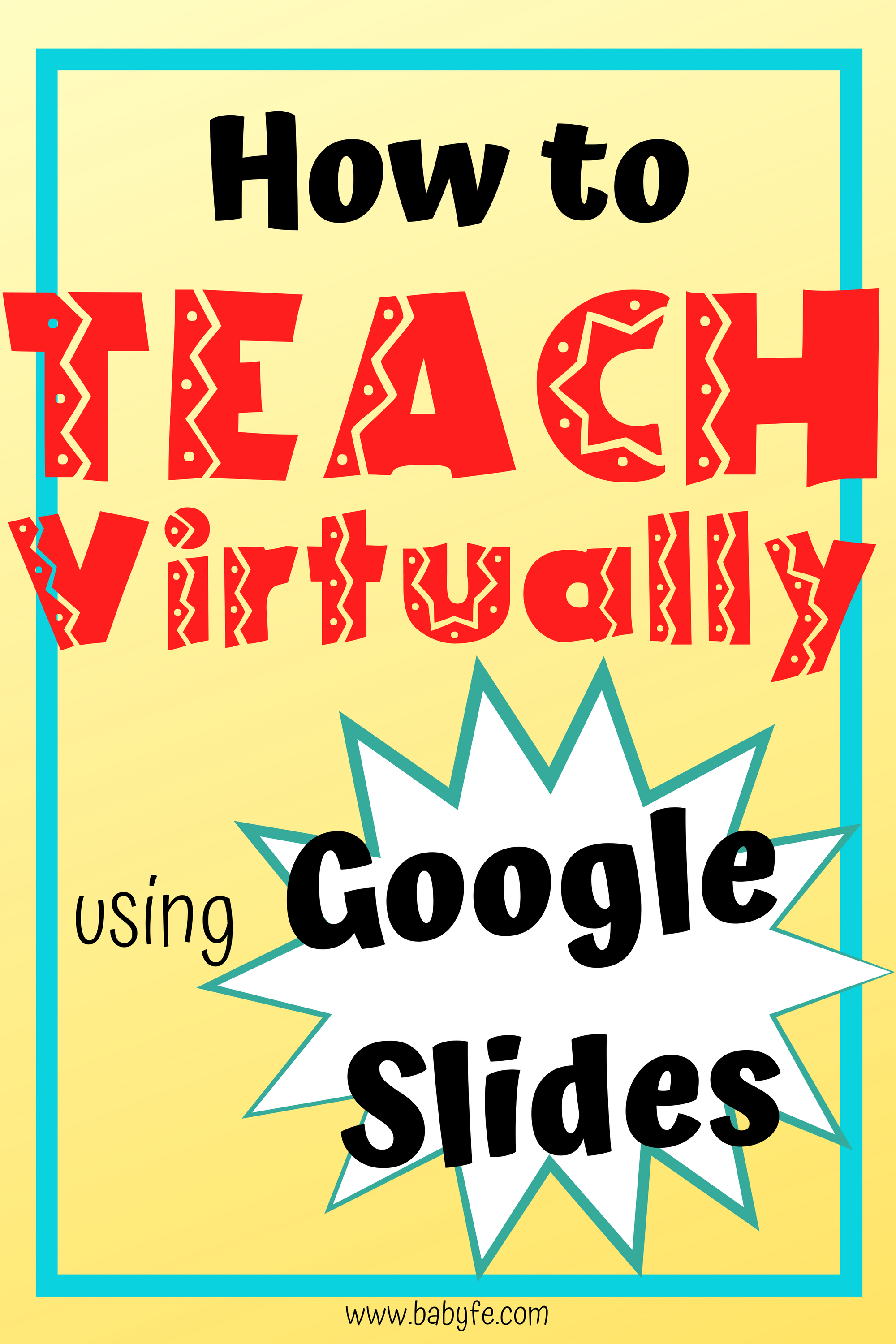 Learn How To Teach Online Using Slides In