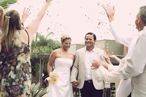 Casamento perfeito.
