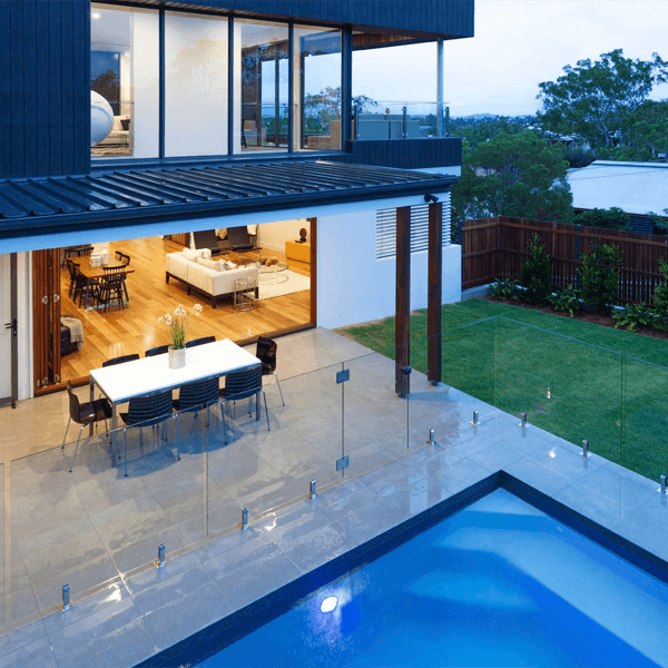Frameless Glass Pool Fence by Aquaview Fencing | Glass Pool ...