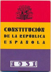 Constitución española : IIª República Española / edición, Carlos Díaz Martínez ; prólogo, José Antonio Portero Molina