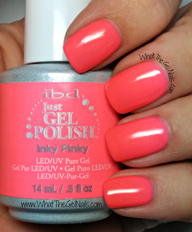 IBD Inky Pinky, IBD Just Gel Nail Polish Color