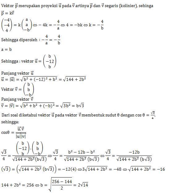 Contoh Soal Vektor Matematika Ilmu Pengetahuan 7 Matematika Belajar Menghitung Belajar