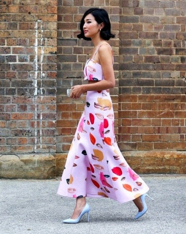 whimsical spring style via who what wear