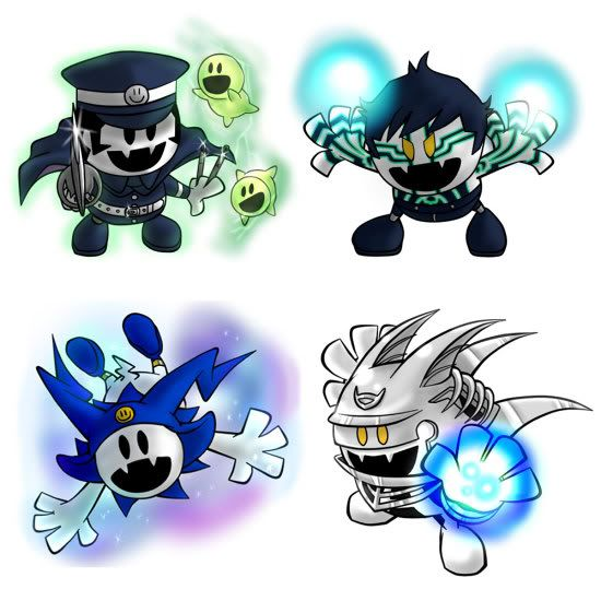 Pin By Tommy Lee On Press Any Button To Start Jack Frost Shin Megami Tensei Jack Frost Smt