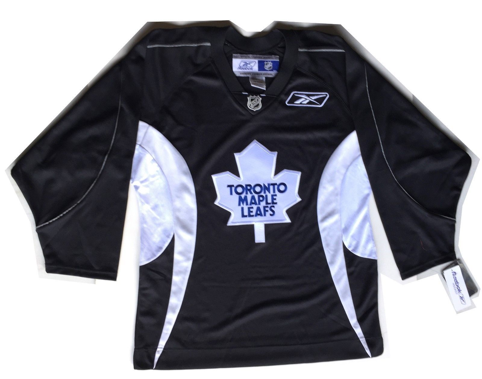 purchase cheap 416d2 59092 NWT Reebok NHL Toronto Maple Leafs Jersey Stitched Black ...