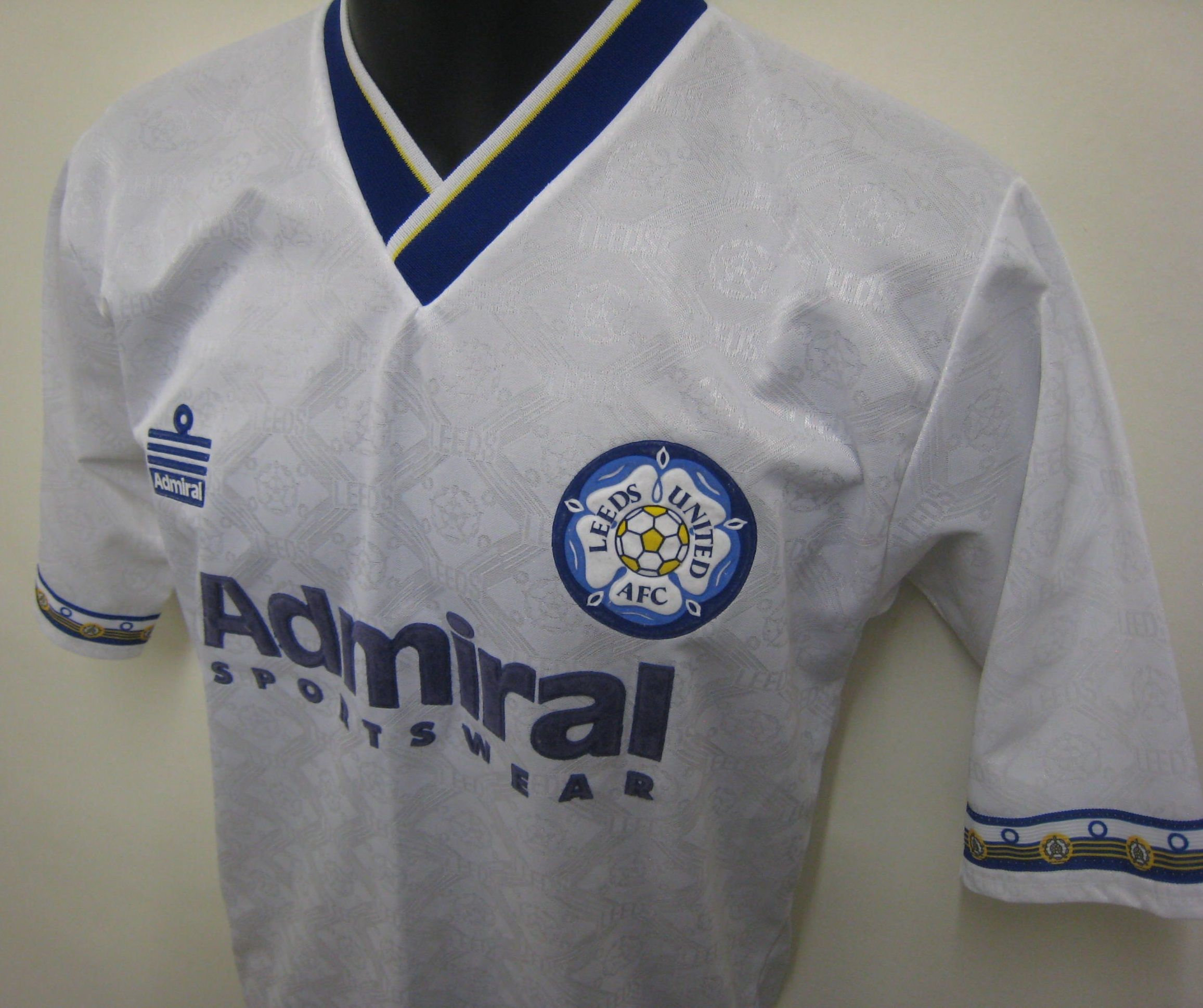 Admiral Leeds United shirt 92-93 (when they were reigning Champions ... e7735e39c
