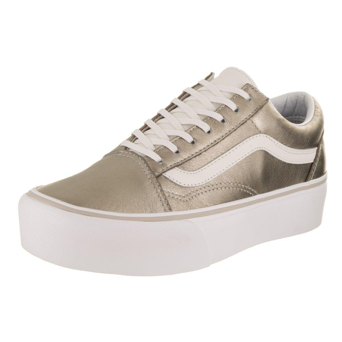 Vans Unisex Old Skool Platform Skate Shoe Compras f6da6f947c1
