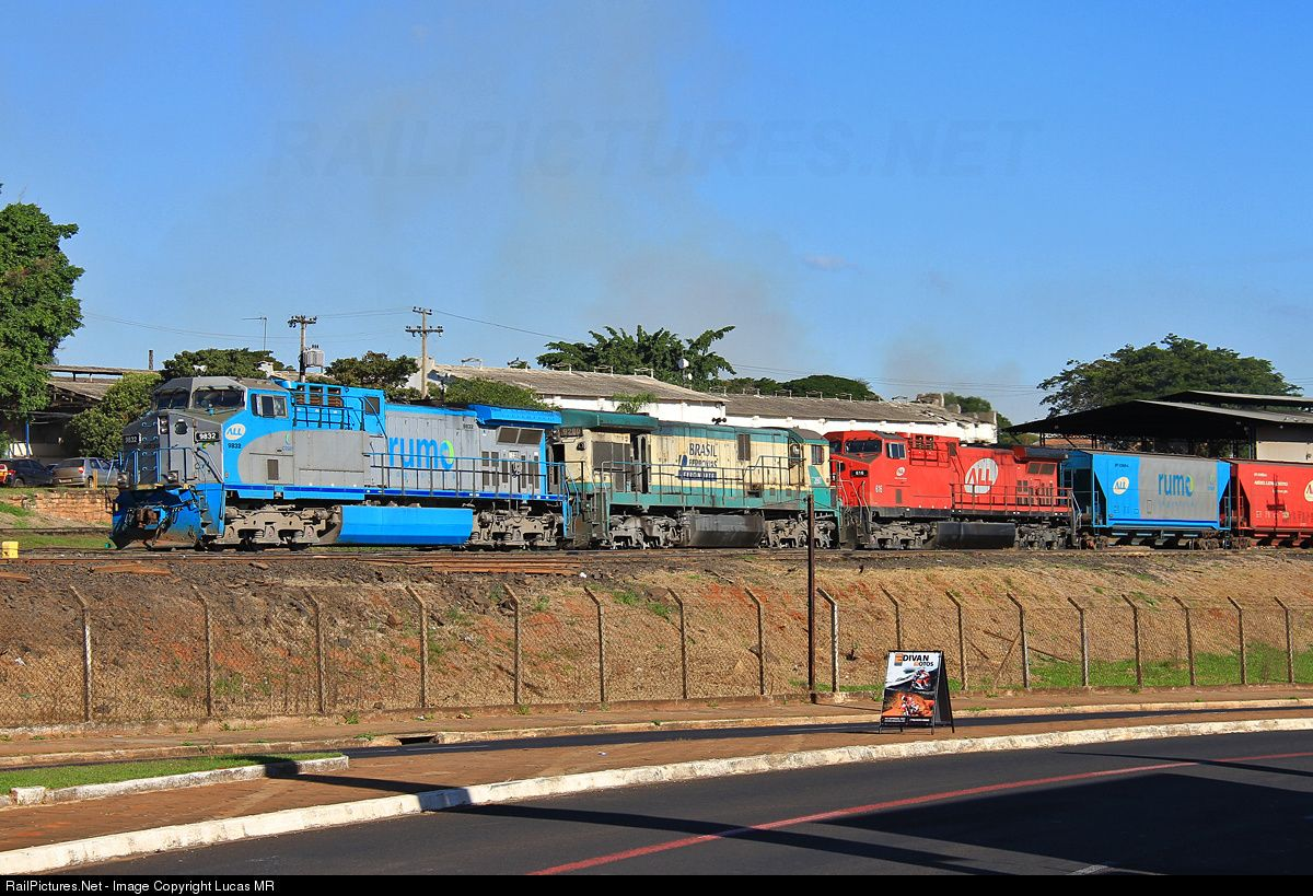 Net Photo 9832 Rumo ALL GE AC44i At Araraquara Brazil By