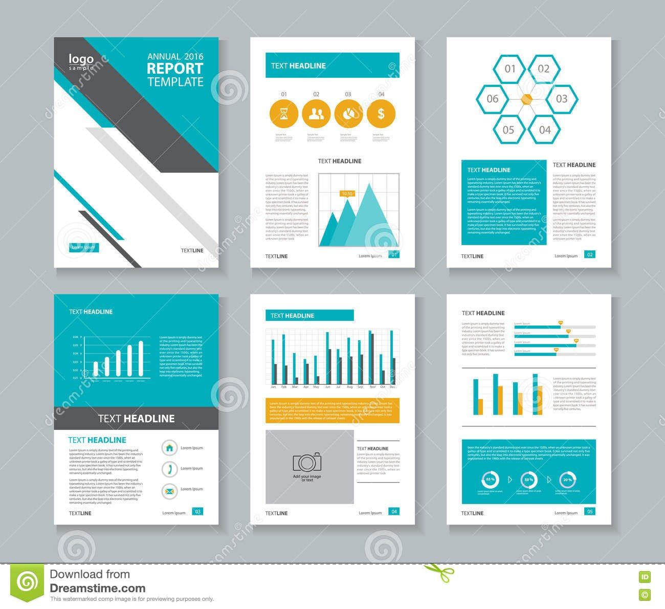 Annual Report Template Word Company Profile Brochure Flyer With Annual Report Template Word 10 Pro Word Template Report Template Business Card Template Word