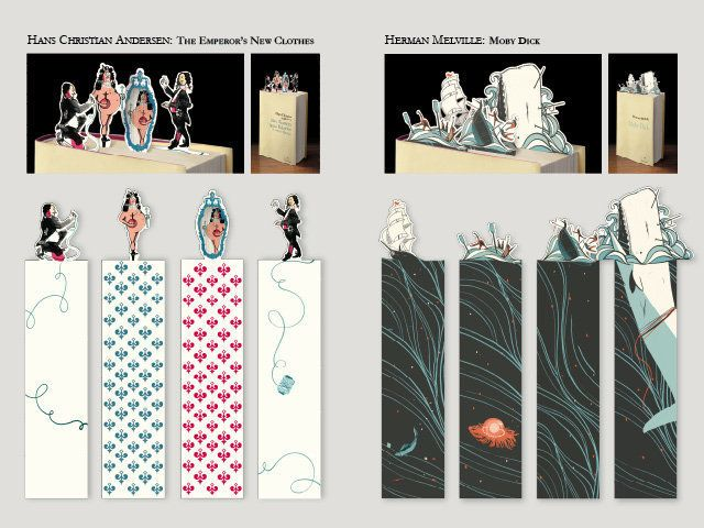 Creative Bookmark Design ~ Even more felix jud bookmarks novel marketing