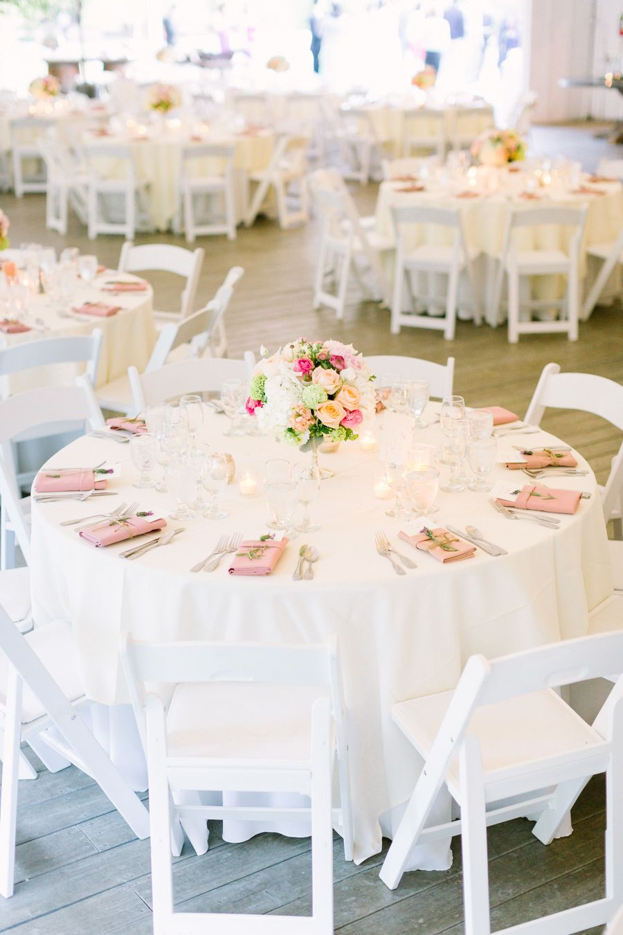 Wedding decorations white  Romantic Summer Wedding at Calamigos Ranch  Marriage Wedding