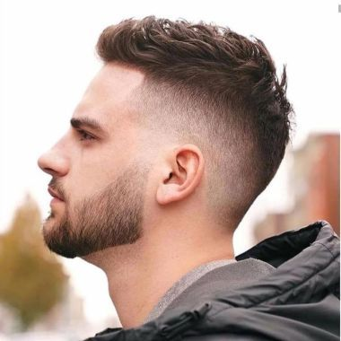 How To Choose The Right Men Haircut Short Fade Haircut Faded Hair Cool Mens Haircuts