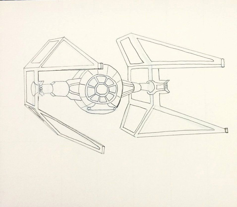 Tie Fighter Coloring Page Luxury Tie Fighter By Thetooginator On