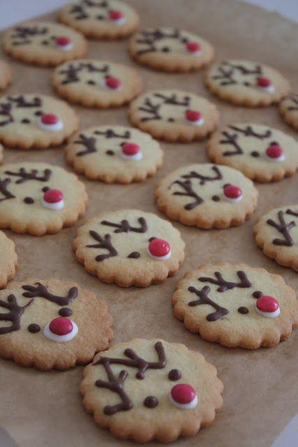 Das kleine weisse Haus: Rudolph und Tannenbaum-Kekse #kleineweihnachtsgeschenkebasteln
