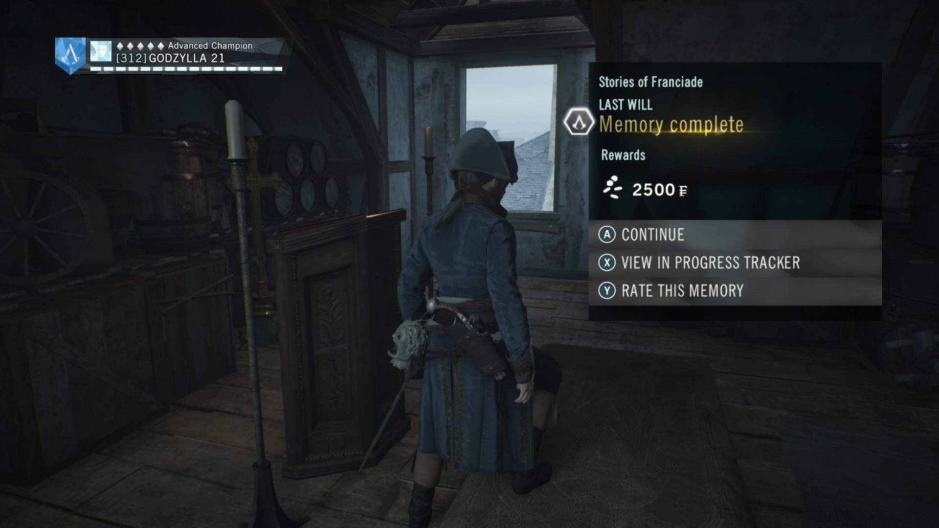 Assassin S Creed Unity Dead Kings Story Of Franciade Last Will