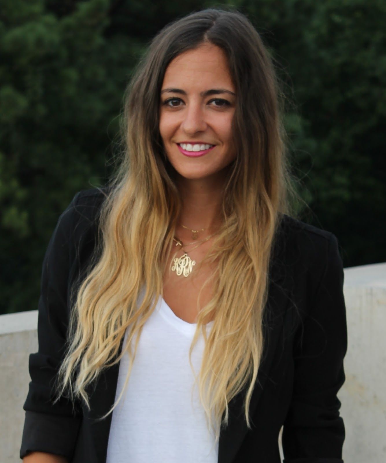 Follow Jessica Alba ombre hair trend