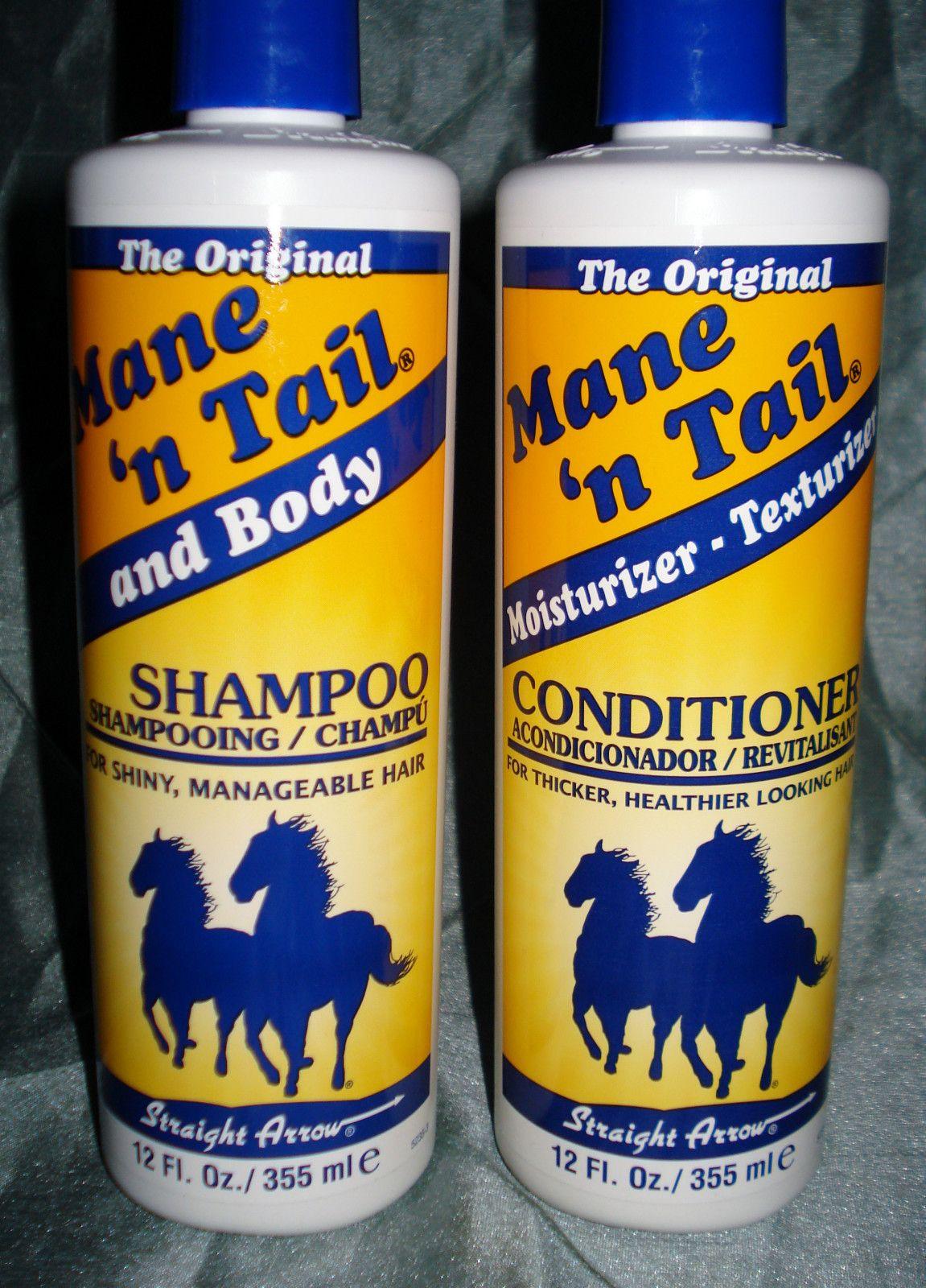 Mane n Tail Body Original Formula Shampoo Conditioner Set LONGER ...