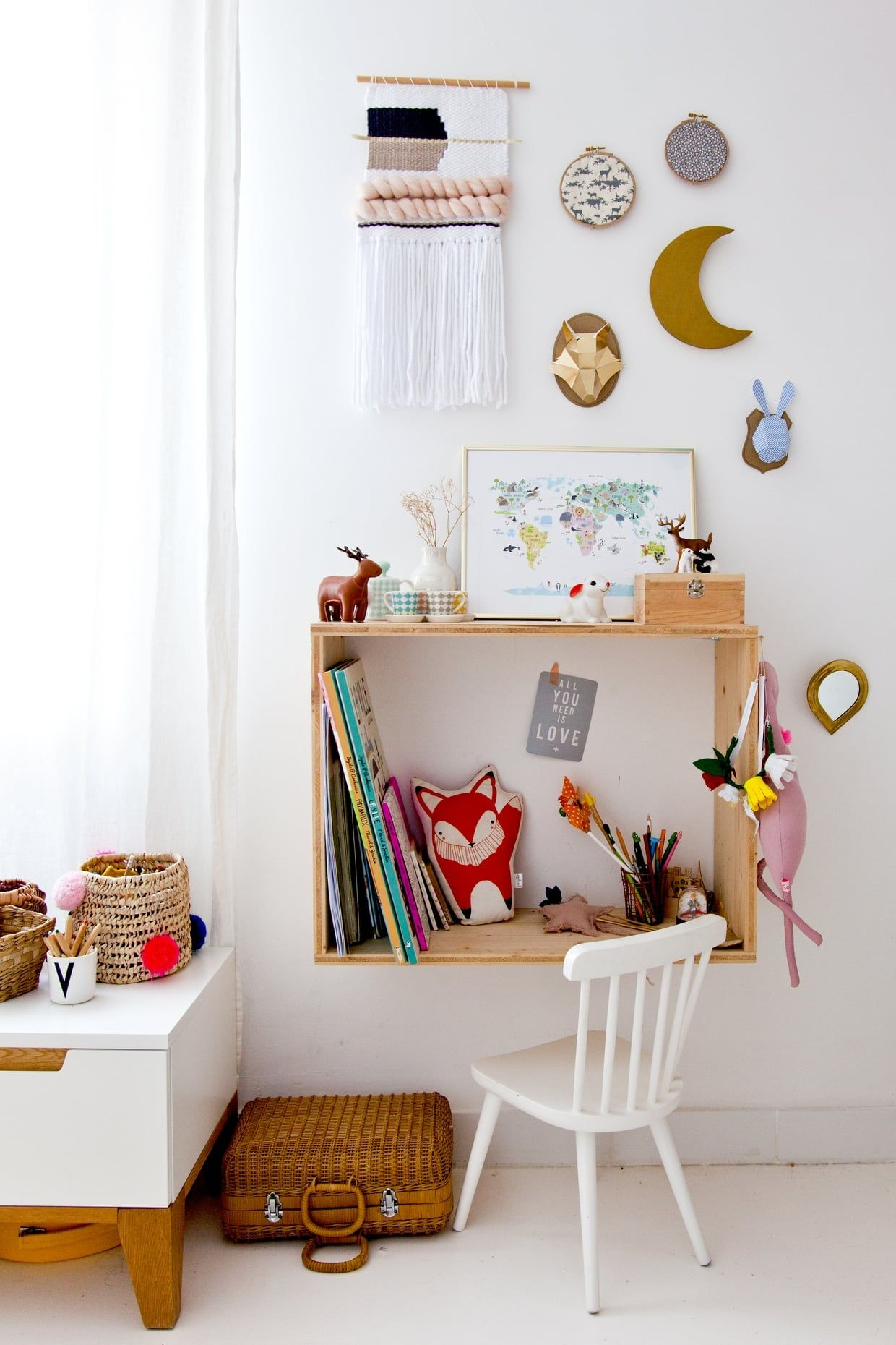 Bureau Enfant Original Un Bureau Minimaliste Et Original Wild Child Office Desk Desk