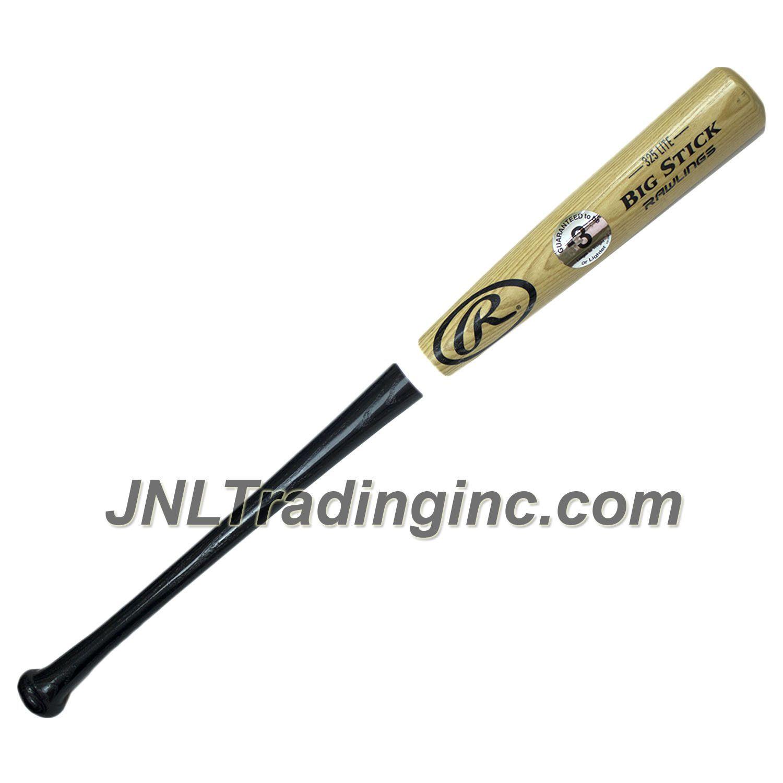 rawlings adult wood baseball bat big stick 325 lite 2 1 2 rh pinterest com