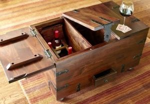 Pier 1 Import Trunk To Use As Coffee Table Wine Storage Storage