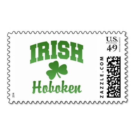 Hoboken Irish Stamps. It is really great to make each letter a special delivery! Add a unique touch to invites or cards with your own photos or text. Just click the image to learn more!