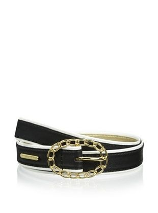 Ivanka Trump Women's Chain Buckle Belt (Black)