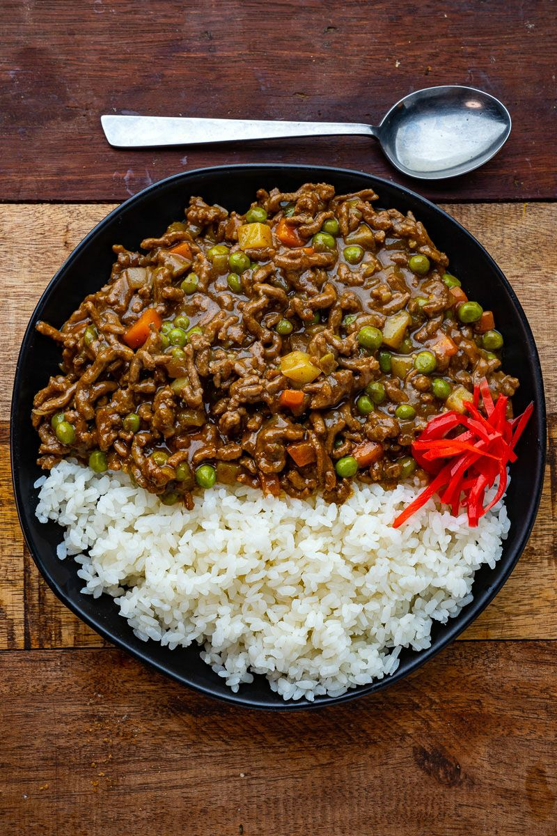 Japanese Dry Curry Recipe In 2020 Curry Ground Beef Food For A Crowd Delicious Dinner Recipes