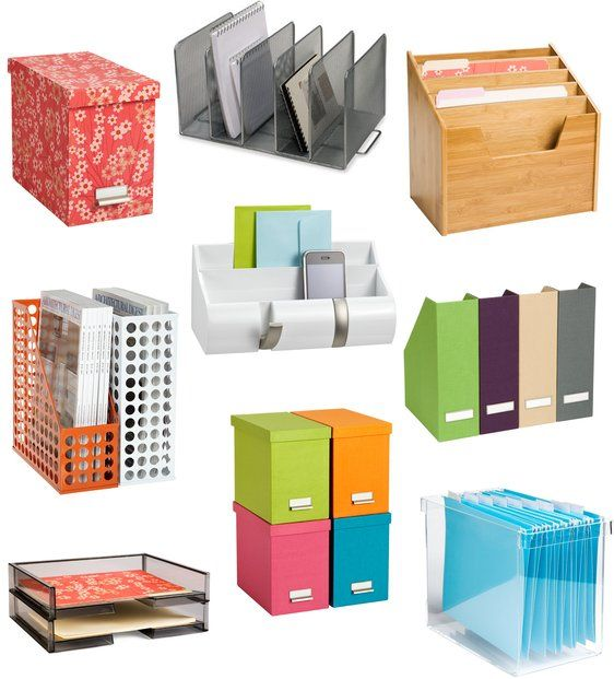 9 Cute Tools To Organize Paperwork And Files Organizing