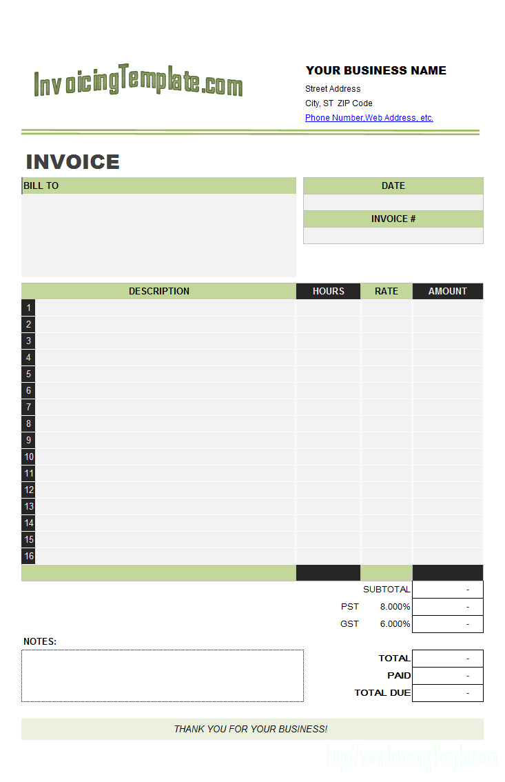 Itemized Graphic Design Format Invoice Template Word Invoice Template Freelance Invoice Template