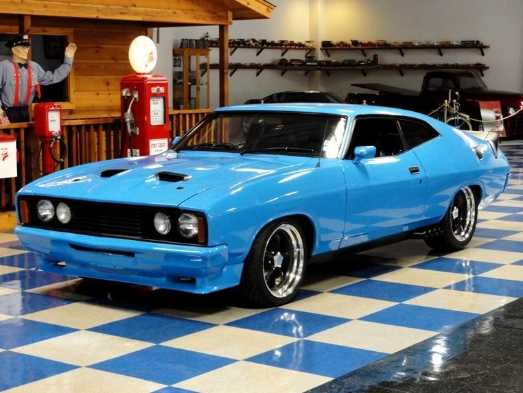 Rhd Muscle 540 Hp 5 Speed 1976 Ford Falcon Xc Ford Falcon