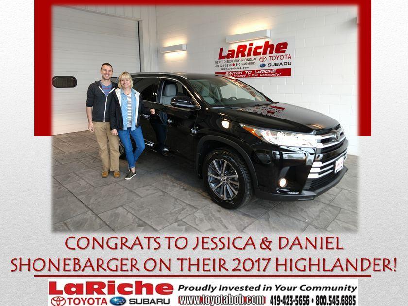 Congratulations Jessica and Daniel! LetsGoPlaces Subaru