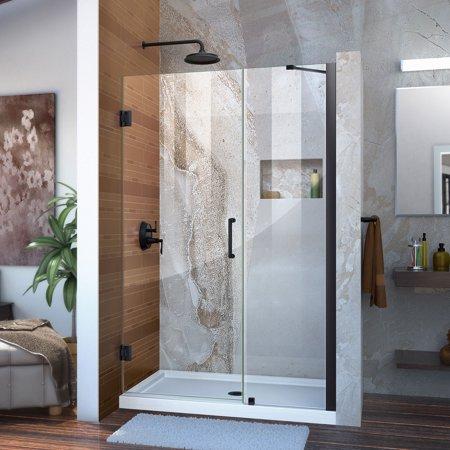 Dreamline Unidoor 47 48 In W X 72 In H Frameless Hinged Shower
