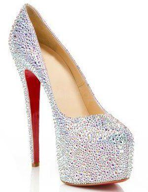 83a57638a3b Gorgeous Colorful 4 3 4   High Heel Rhinestone Fashion Shoes US 68.99