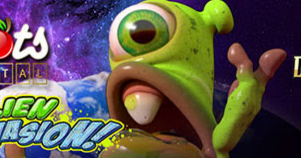 Alien Spinvasion - 100% Match Bonus plus $100 Free Chip at Desert Nights and Slots Capital Casinos