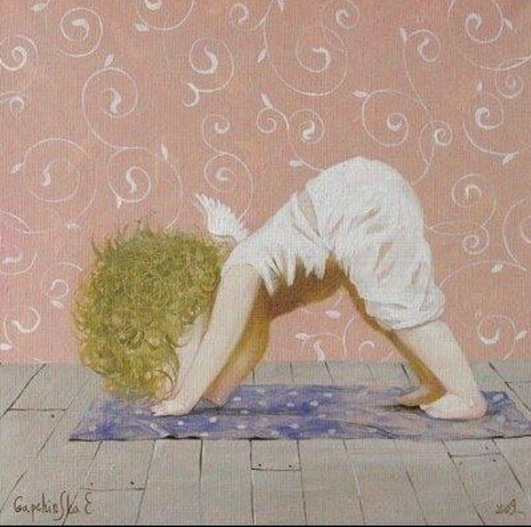 открытки йога для ангелов сроки